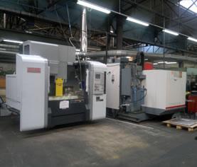 Découvrez notre parc machines : NL2500SY/700,NVX5100...